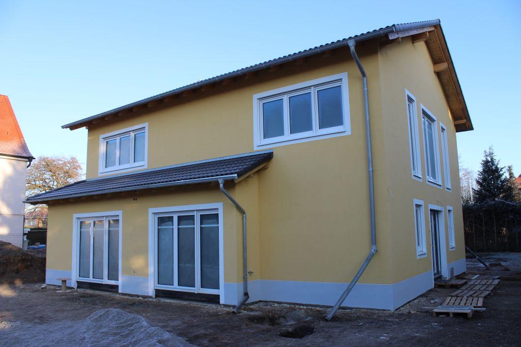EFH Markkleeberg - Fassade / Wärmedämmverbundsystem
