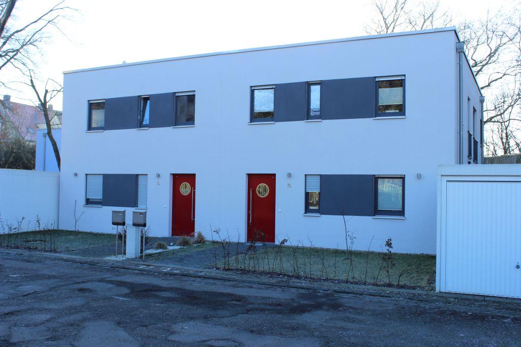 Doppelhaus in Leipzig - Fassade / Wärmedämmverbundsystem